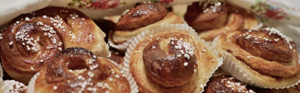 Bake Swedish cinnamon buns