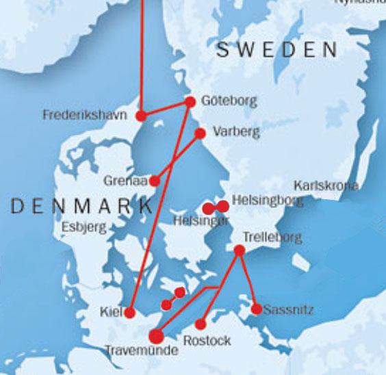 rostock karta By ferry to Sweden rostock karta